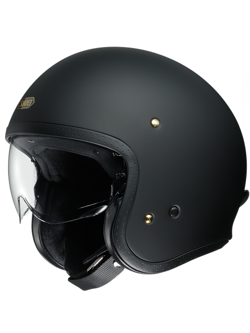 Kask otwarty SHOEI JO matt black