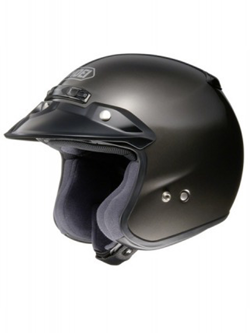 Kask otwarty SHOEI RJ PLATINUM-R ANTHRACITE METALLIC